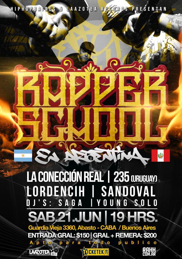 Rapper School en Argentina
