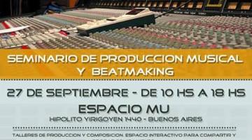 Seminario de producción musical y beatmaking