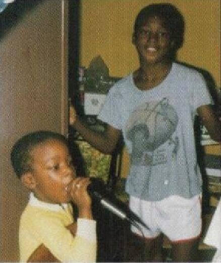 Big L cuando era chico