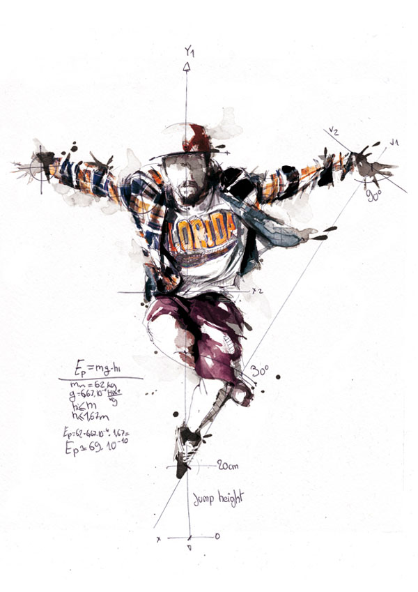 12. Florian-Nicolle-Break-Dance-Illustrations-1