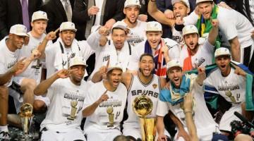 San Antonio Spurs campeones de la NBA