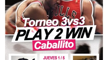 Play 2 win- Torneo 3 vs 3 Caballito