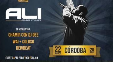 Ali aka Mind en Córdoba