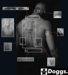 Los Tatuajes de Tupac Shakur - 2Pac Tattoos
