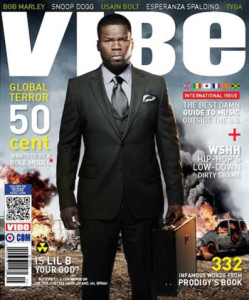 50 Cent Vibe Magazine International Cover