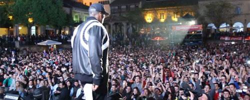 50 Cent en los X-Games de Barcelona