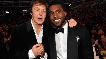 ¿Paul McCartney colabora con Kanye West?
