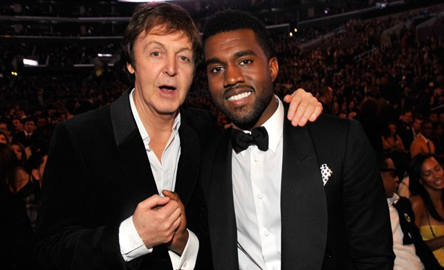 Kanye West y Paul McCartney