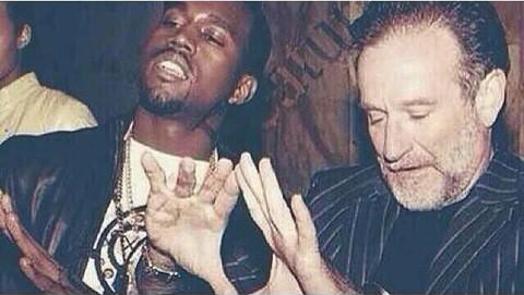 robin williams kanye west