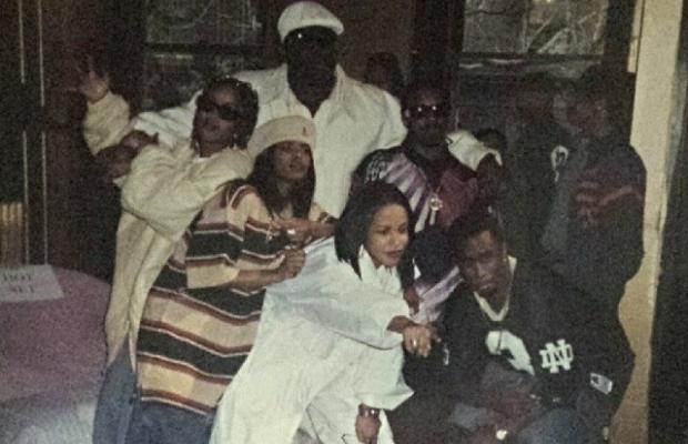 Da Brat, The Notorious B.I.G., Aaliyah, Jermaine Dupri, and Puffy