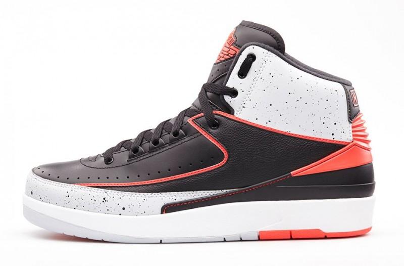 0fc7b83a4ec ... Lanzamiento de las Air Jordan 2 Retro   infrared 23