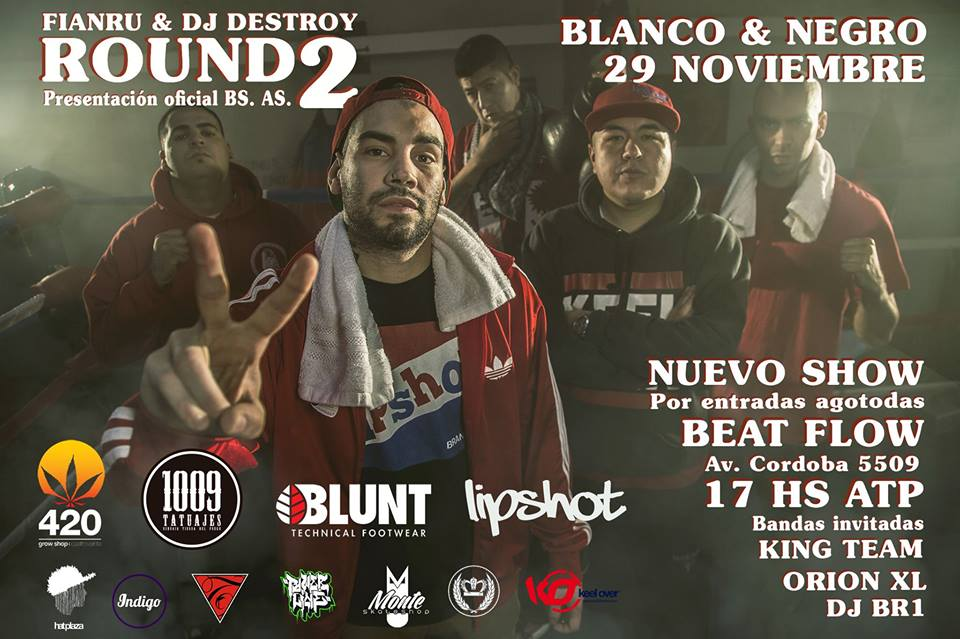 Fianru & DJ Destroy Round 2