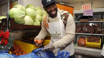 50 cent en la lucha contra el hambre