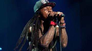 Lil Wayne enfurecido en su concierto