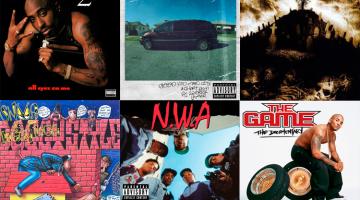 Los 21 mejores discos de rap del West Coast
