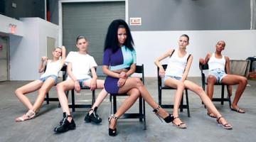 Nicki Minaj enseña twerking a supermodelos