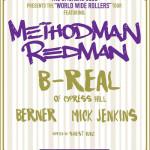 Method Man, Redman y B-Real se preparan para el World Wide Rollers Tour