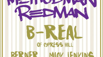 Method Man, Redman y B-Real se preparan para el World Wide Rollers Tour