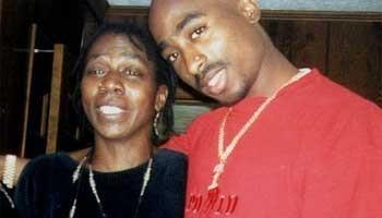 Detienen a la mama de Tupac Shakur