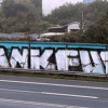 Against the Grey, graffiti en Frankfurt