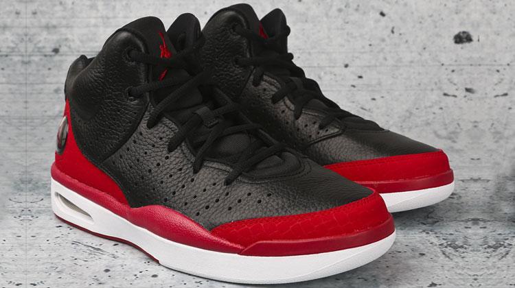 Air Jordan 1 Flight Tradition (black-red)