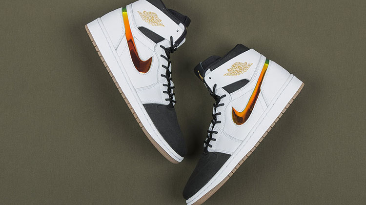 Air Jordan 1 hi Nouveau (black - white)
