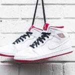 Air Jordan 1 mid white gym red