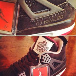 "Air Jordan IV ""We the Best"" x Dj Khaled"