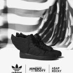 "A$AP ROCKY X ADIDAS ORIGINALS JEREMY SCOTT WINGS 2.0 – ""BLACK FLAG"""