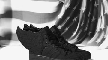 """A$AP Rocky Adidas Originals JS Wings 2.0 """"Black Flag"""""""
