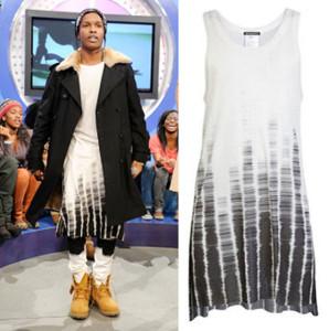 A$AP Rocky vestido de mujer