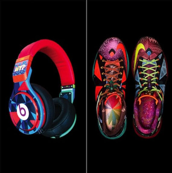 """Auriculares Beats by Dre """"Nike LeBron X MVP"""""""