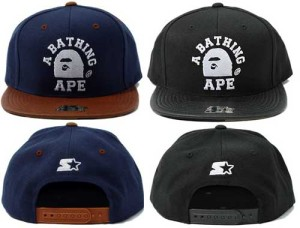 Bape x Starter - 1st Camo Snapback Caps