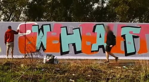 Behind the mask, documental de graffiti