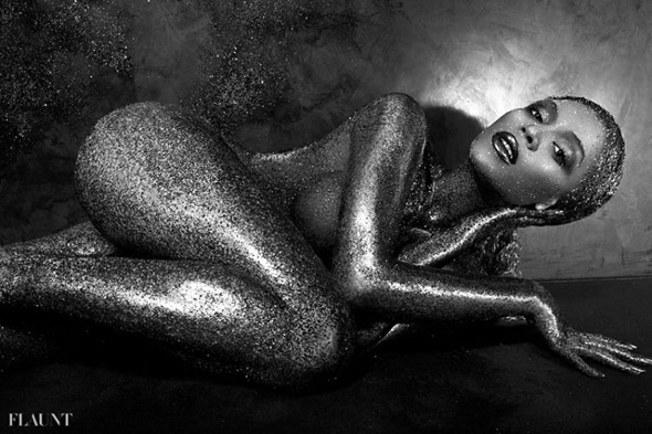Beyonce sin ropa en Flaunt Magazine