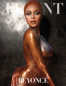 Fotos de Beyonce desnuda en Flaunt Magazine
