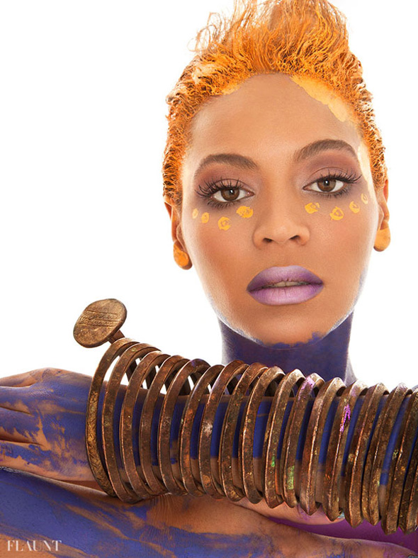 Beyonce en Flaunt Magazine