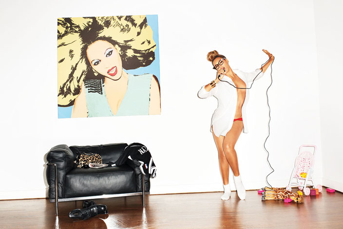 Beyonce x Terry Richardson x GQ Magazine