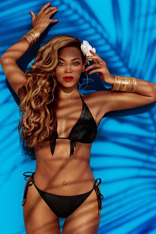 Fotos de Beyonce en traje de baño para H&M Swimwear