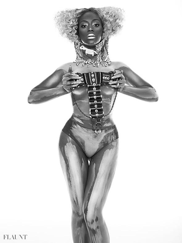 Beyonce desnuda en Flaunt Magazine